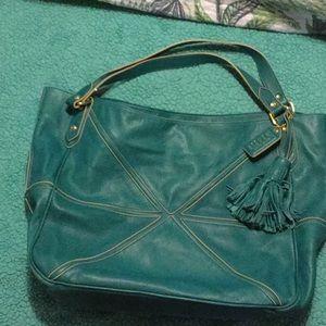 Steven leather handbag